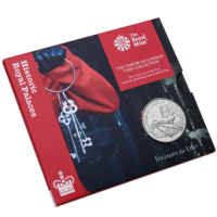 2019 £5 The Tower of London Ceremony of the Keys Brilliant Unc
