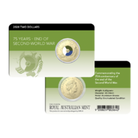 2020 75th Anniversary of the End of WWII UNC Coin Pack