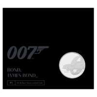 2020 £5 James Bond Aston Martin BUNC Coin