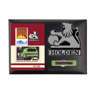 Holden Sandman Badge, Sheetlet and Pin Set