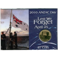 2010 ANZAC Day Lest We Forget