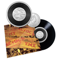 2020 20c AC/DC TNT Coloured UNC Coin