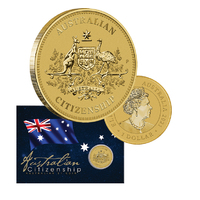 2021 $1 Australian Citizenship Coin