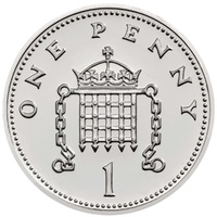 2018 Royal Birth Silver Penny BU