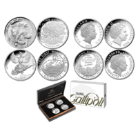 2015 Gallipoli 4 Coin Silver Proof Set