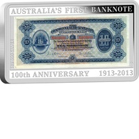 2013 100th Anniversary of the First Banknote Coin and Stamp Set