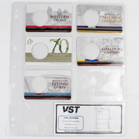 VST Coin Album Pages [Pockets: 8 Pocket] [Suitable for RAM & Collector Cards]