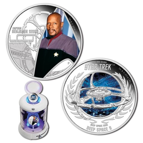 2015 $1 Star Trek - Deep Space Nine 1oz Silver Proof Pair