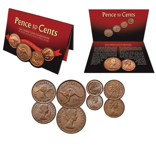 Pence To Cents Premium Pack