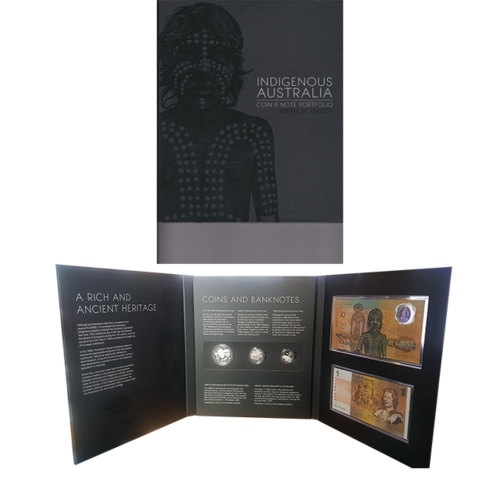 Indigenous Australia Coin and Note Portfolio Premium Edition