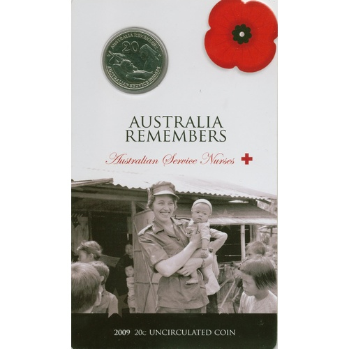2009 20c Australia Remembers Nurses