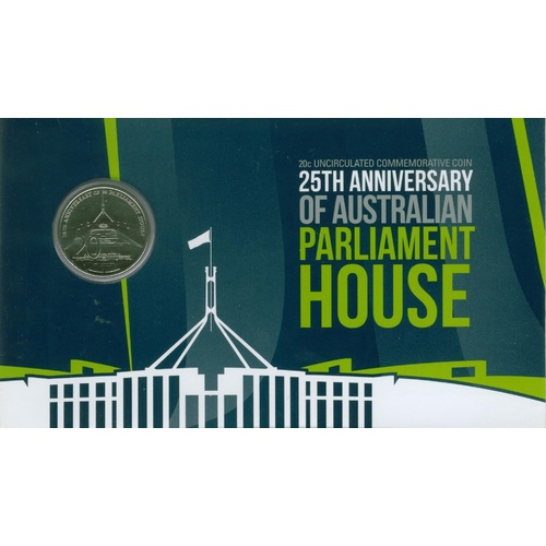 2013 20c 25th Anniversary of Aust Parliament House
