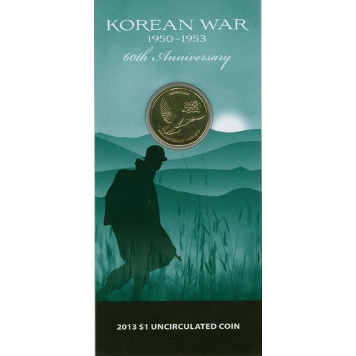 2013 $1 Korean War 60th Anniversary